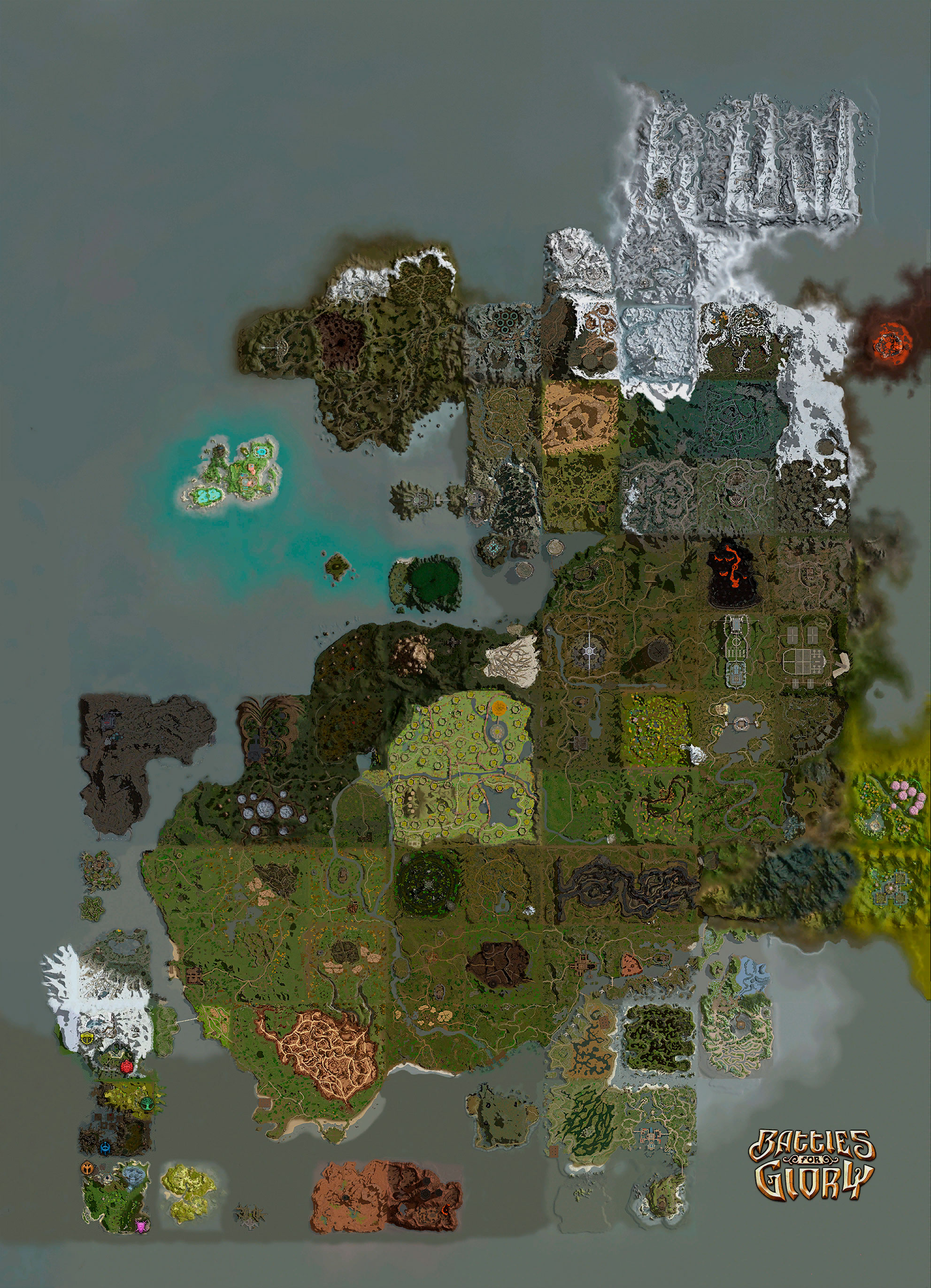 » Интерактивная карта Battles For Glory